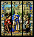 Stained Glass Window Royalty Free Stock Photo - 32851305