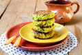 Zucchini Fried Cakes Royalty Free Stock Photography - 32880617
