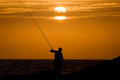 Angler On Fuerteventura Stock Photos - 32886633