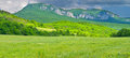 Mountain And Green Meadow Royalty Free Stock Images - 32894109