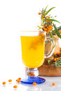 Sea Buckthorn Tea Royalty Free Stock Photos - 32910248