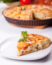 Piece Of A Chicken Meat Pie Royalty Free Stock Photos - 32912648