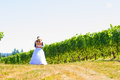 Bride And Groom First Look Royalty Free Stock Photo - 32922345