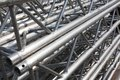 Stack Of Metal Trusses Stock Images - 32935334