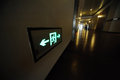 Exit Sign Royalty Free Stock Image - 32950596