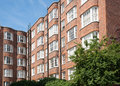 Red Brick Apartments. Stock Image - 32960561