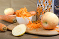 Grated Carrot. Royalty Free Stock Photography - 32981227