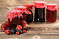 Fruity Jam Stock Images - 32985684