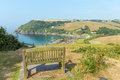 Talland Bay Between Looe And Polperro Cornwall England UK Royalty Free Stock Image - 32990516