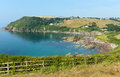 Talland Bay Between Looe And Polperro Cornwall England UK Royalty Free Stock Image - 32990526