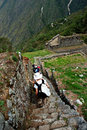 Ancient Inca Steps Stock Photography - 3305342