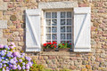 French Brittany Typical House Royalty Free Stock Images - 33003529