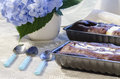 Two Chocolate Cake In A Baking Dish Stock Photos - 33015613