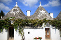 Symbols At Italian Trulli In Alberobello Stock Photo - 33022940