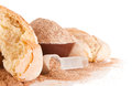 Home Baked Goods With Brans And Measure Spoon Royalty Free Stock Image - 33029986