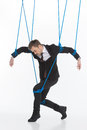Business Marionette. Royalty Free Stock Photography - 33030797