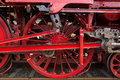 Steam Locomotive Wheels Royalty Free Stock Photography - 33037457