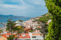 Red Roofs And White Houses Royalty Free Stock Photography - 33040247