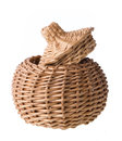 Wicker Basket Royalty Free Stock Images - 33047649