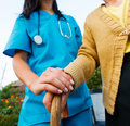 Caring For The Needy Stock Images - 33049154
