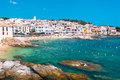 Calella De Palafrugell, Costa Brava, Catalonia, Spain. Stock Photos - 33049953