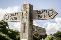 Coastal Path Sign Royalty Free Stock Images - 33069749