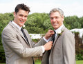 Best Man And Groom At Wedding Stock Photos - 33081363