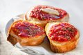 Bruschetta With Tomato, Shallow Dof Royalty Free Stock Images - 33089649