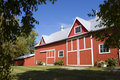 The Old Red Barn Stock Images - 3318844