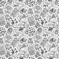 Seamless Furniture Pattern Stock Images - 33112164