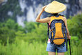 Woman Hiker Royalty Free Stock Images - 33119869
