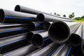 HDPE Pipe For Water Supply Royalty Free Stock Photos - 33139018