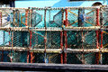 Lobster Traps Royalty Free Stock Photography - 33144047