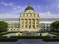 Bavarian State Chancellery In Otto Park Stock Photography - 33149222