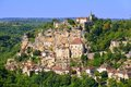 Rocamadour, A Beautiful French Village On A Cliff Royalty Free Stock Photo - 33165175