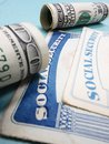 Cards And Cash Stock Images - 33165644