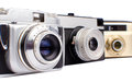 Old Cameras Royalty Free Stock Photo - 33186345