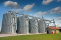 Agricultural Silo - Building Exterior Stock Photography - 33189022