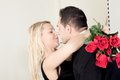 Tender Moment Of Love Stock Images - 33196664
