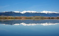 Reflection Of Snowy Rohace Mountains Royalty Free Stock Photography - 33197167