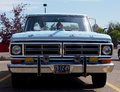 Restored Antique 1972 Blue Ford Pickup Truck Stock Photo - 33198480