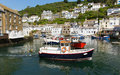 Polperro Boats Cornwall England UK Stock Image - 33207661