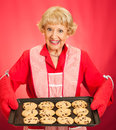Grandmothers Home-baked Cookies Royalty Free Stock Photography - 33222617