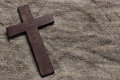 Wooden Cross Stock Photography - 33234182