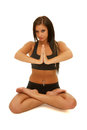 Girl Yoga Stock Photos - 33248183