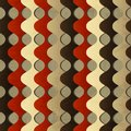 Retro Waves Seamless Pattern With Grunge Effect Stock Image - 33252171