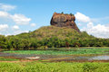 The Sigiriya (Lion S Rock) Is An Ancient Rock Fortress Stock Photo - 33254910