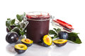Plum Jam Royalty Free Stock Photography - 33256807