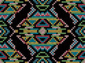 Cross-stitch Ethnic Ornament Royalty Free Stock Image - 33263776