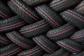 Tire Stack Background Stock Images - 33273814